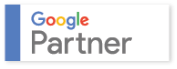 Logo des Google Partner-Zertifikats von xeomed.