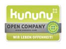 Logo der Open Company-Auszeichnung von Kununu.