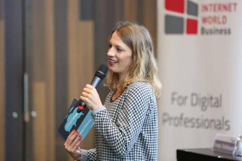 Moderatorin bei der SMC Hamburg 2017